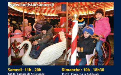 Marché de Noël ST-Ursanne